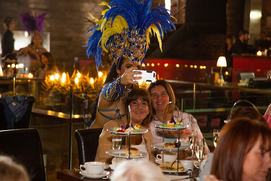 Samba Afternoon Tea - Liverpool Christmas party venues